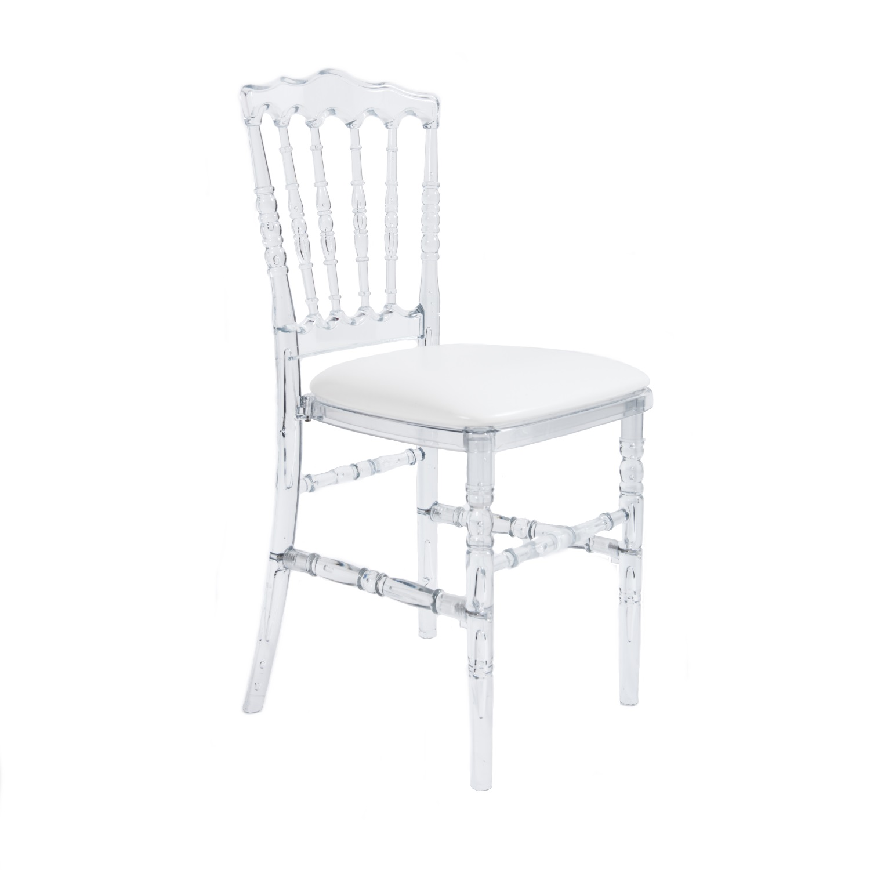 Chaise cristal 'Napoleon III'