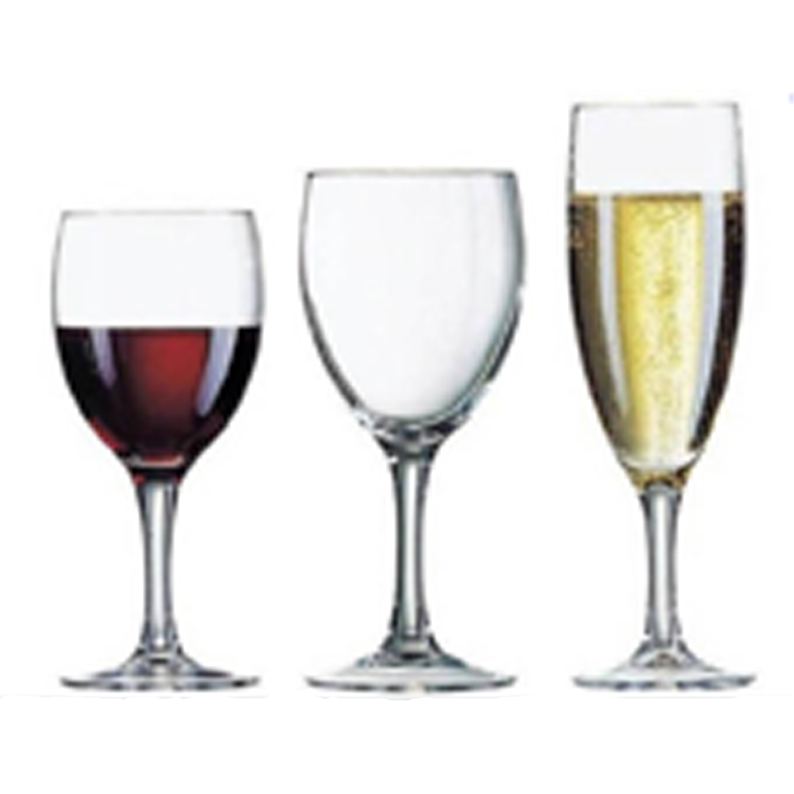 Serie verres elegance