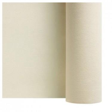 375x375 nappe en intisse soft ivoire champagne en rouleau 1 20 x 50 m nappe papier soft intisse ecrue ivoire 50m f50053ivoi 1