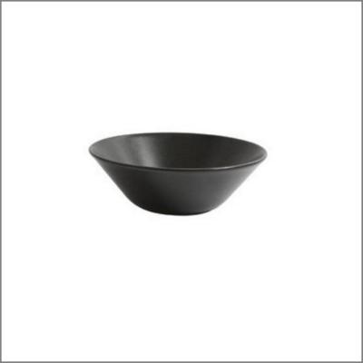 Assiette bol  D18 noire