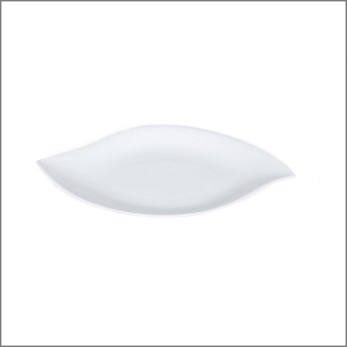 Assiette feuille 32x20 pm