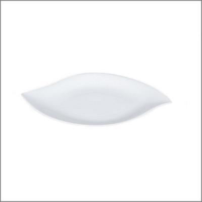 Assiette 32x20 'Feuille'