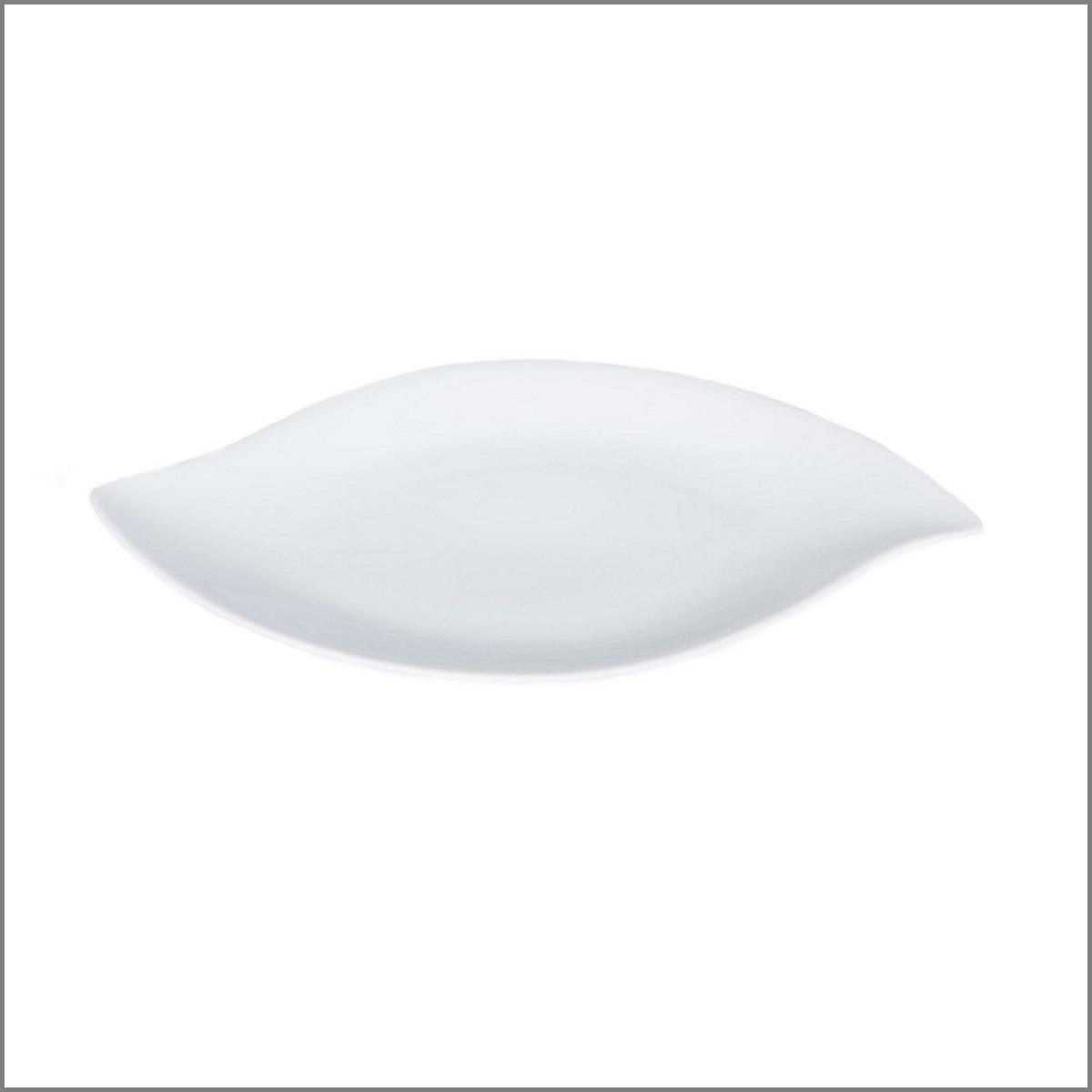 Assiette feuille 36x23 gm