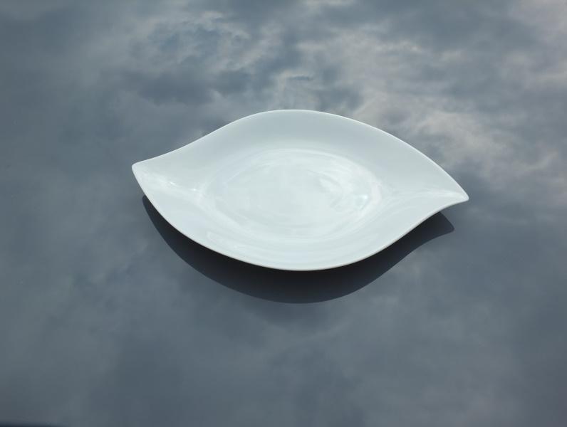 Assiette feuille6 32x20