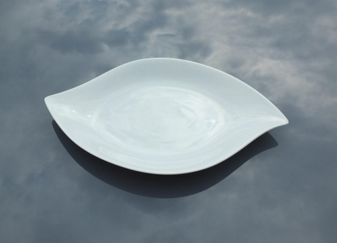 Assiette feuille6 36x23b