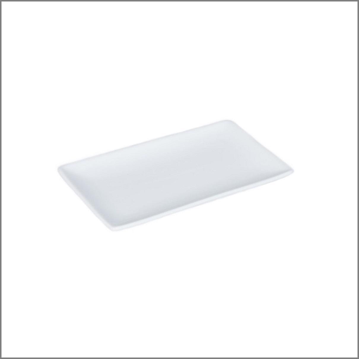 Assiette rectangle 20x13 pm