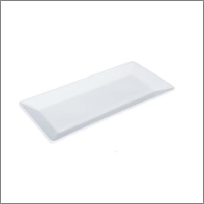 Assiette rectangle 32x15 gm