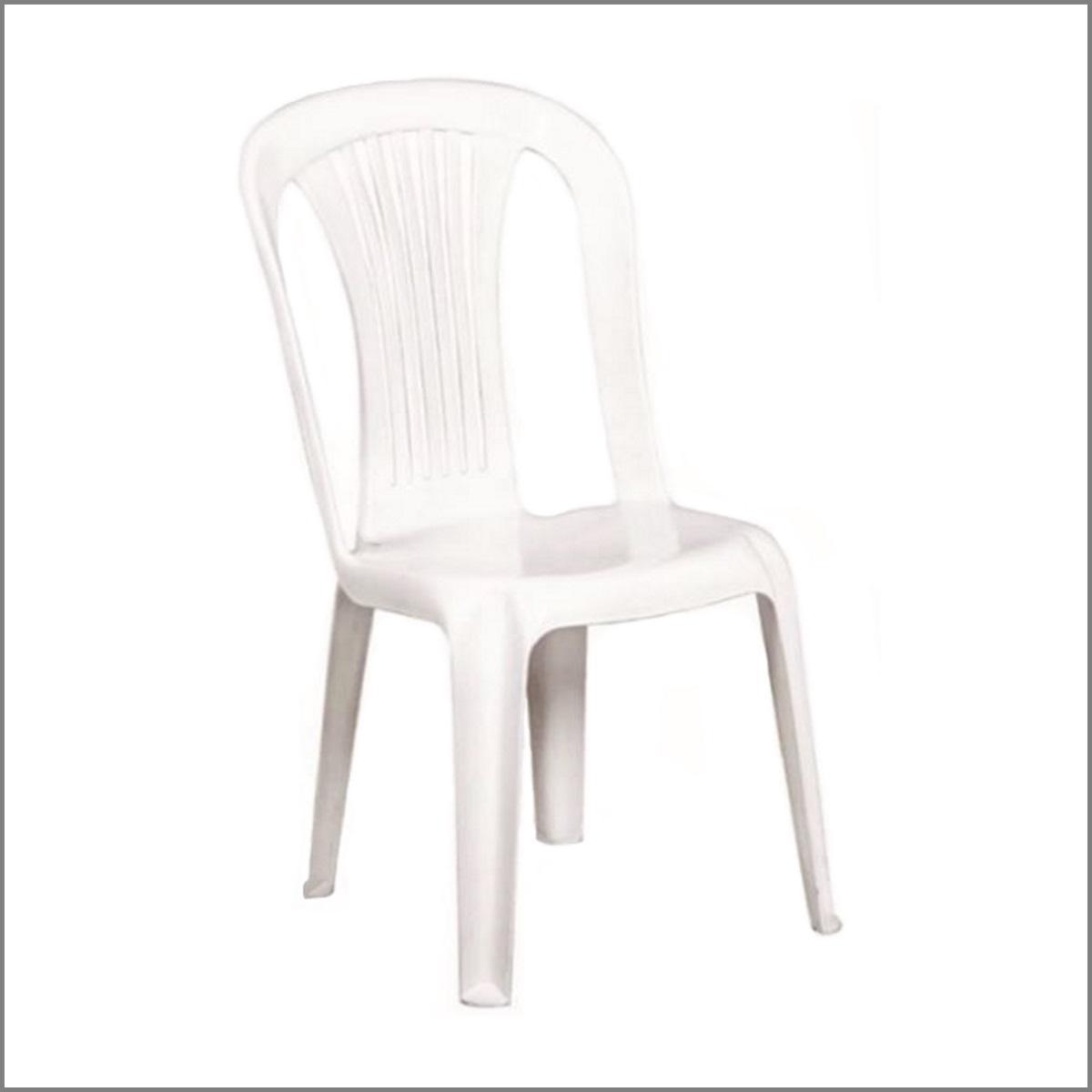 Chaise pvc blanche gala