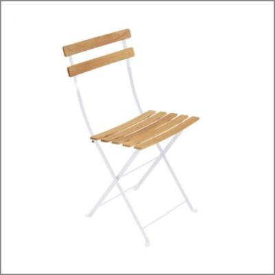 Chaise square bois