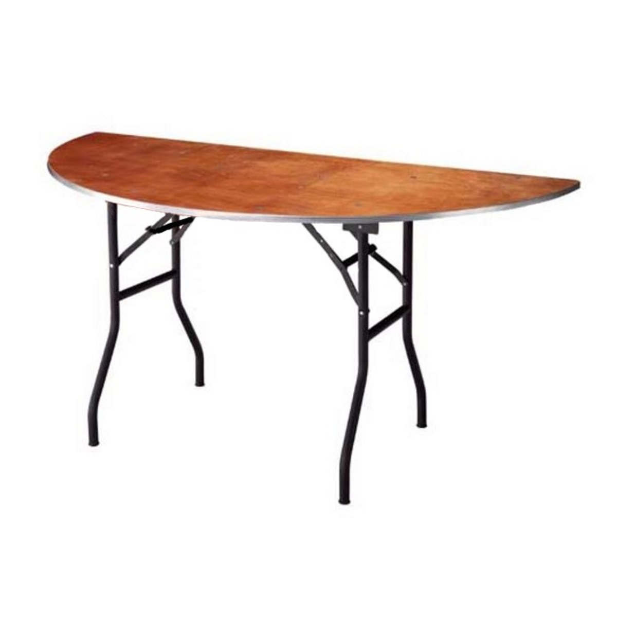 Demie table ronde bois1 1