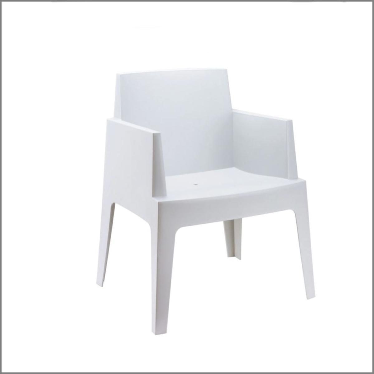 Fauteuils lounge blanc