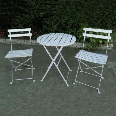 Salon jardin 'Square' blanc