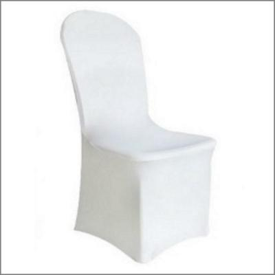 Housse blanche pour chaise