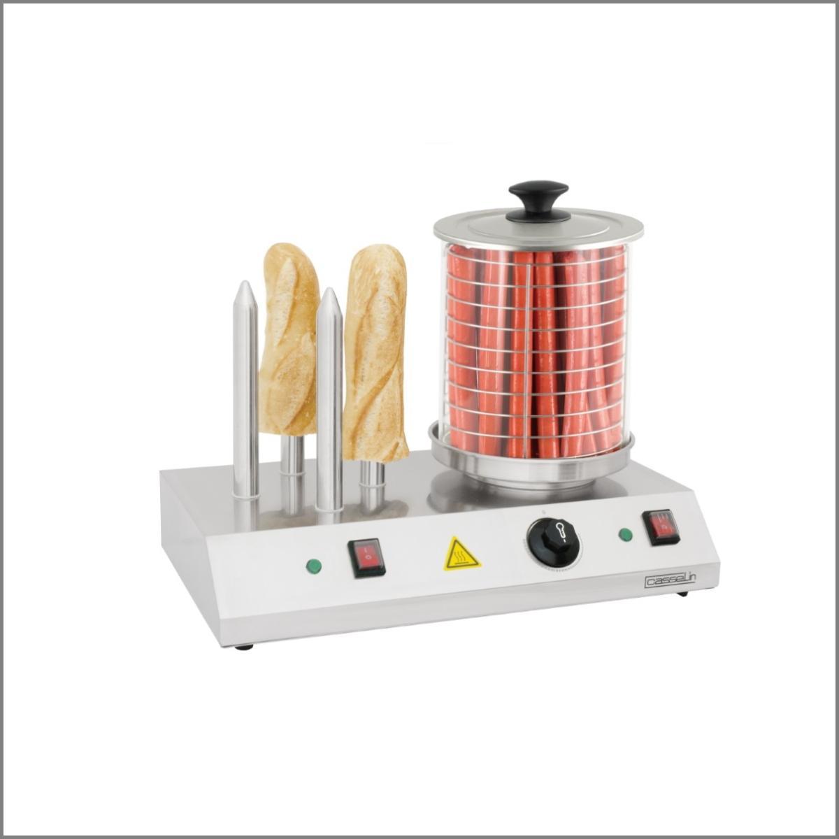 Machine a hot dog 4 plots