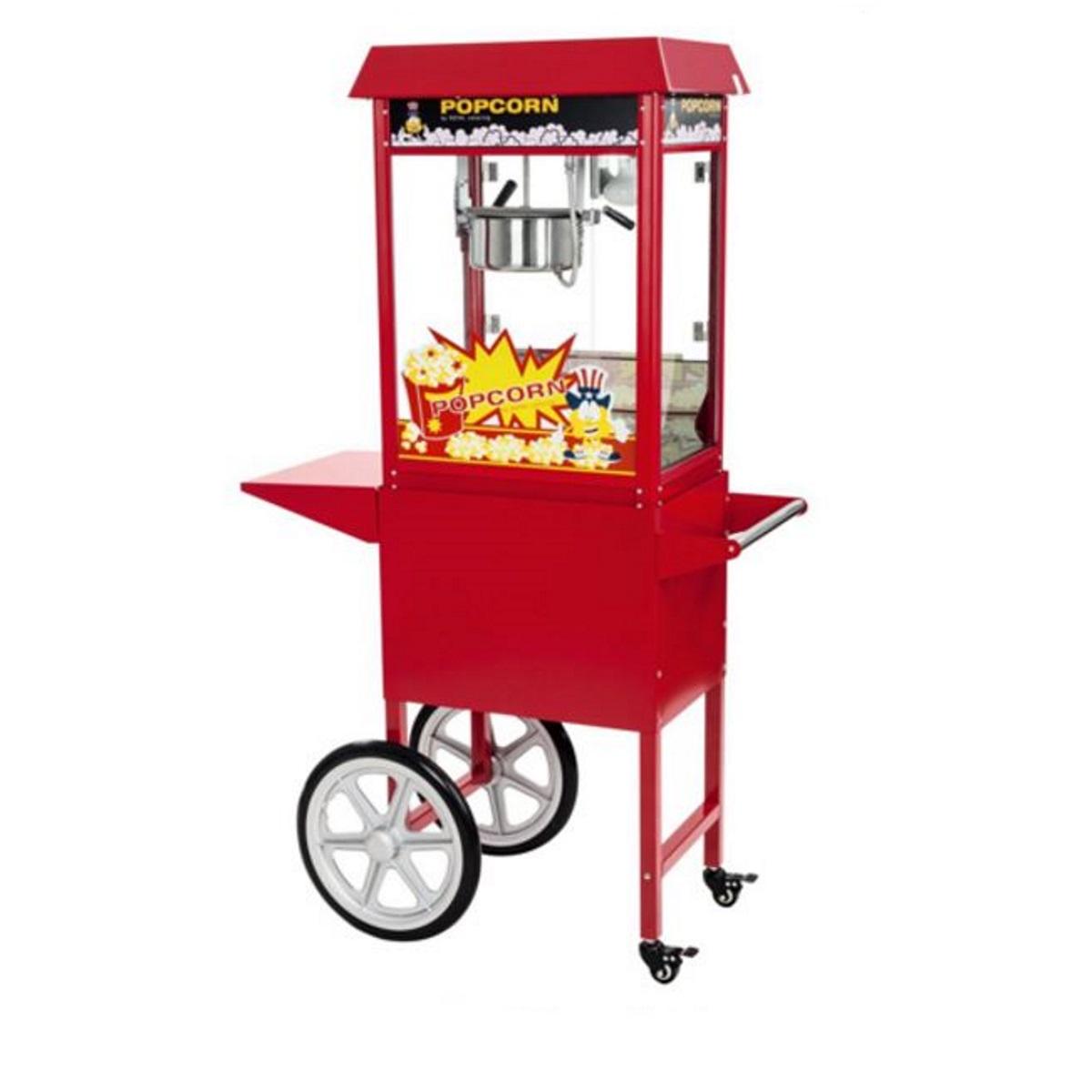 Machine a pop corn et chariot