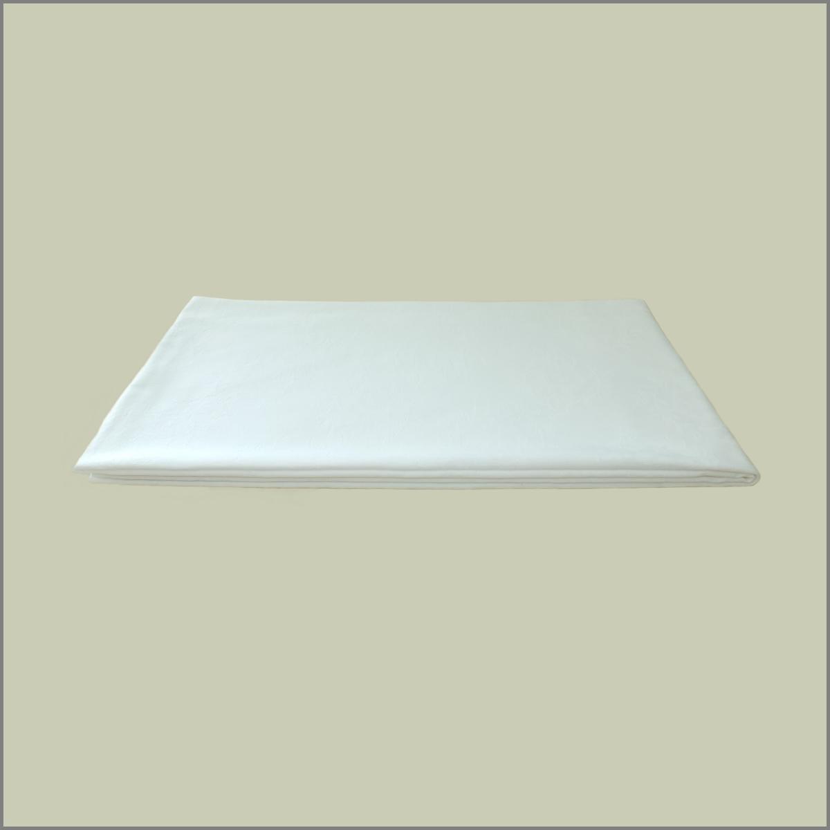 Nappe blanche pour table 183x76