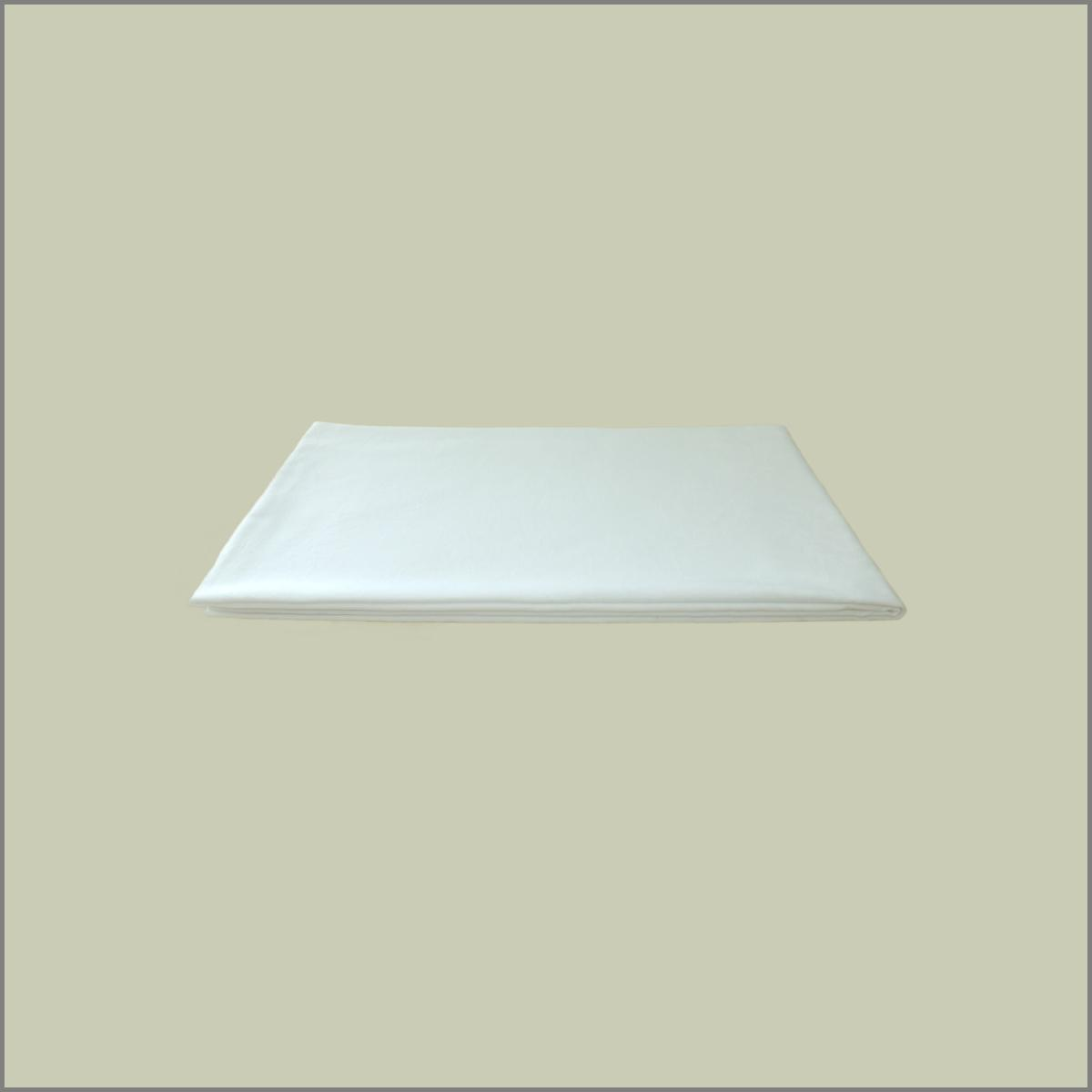 Nappe blanche pour table 87x87