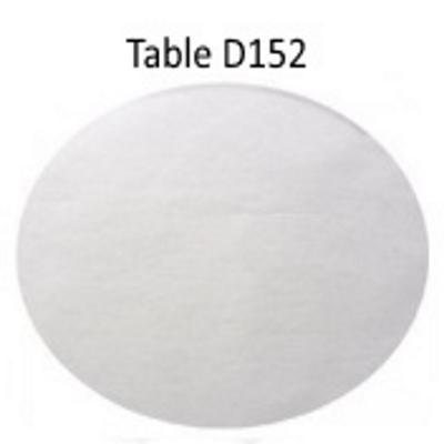 Vente nappe en intissé ronde D2,40m  blanche