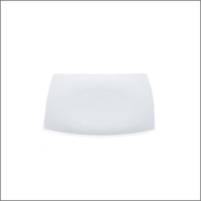 Assiette carrée 20x20 'Pagode'