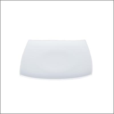 Assiette carrée 26x26 'Pagode'