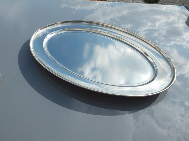Plat ovale inox3