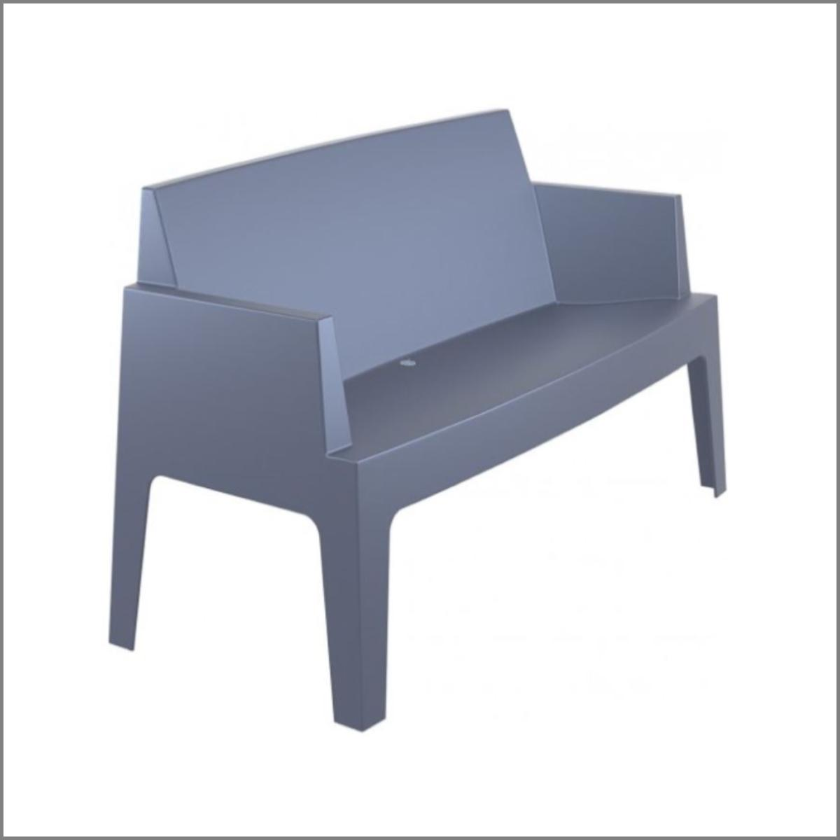 Sofa lounge anthracite 1