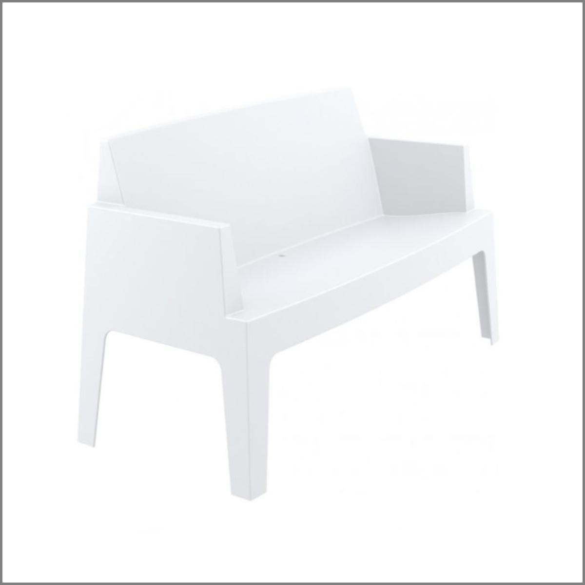 Sofa lounge blanc
