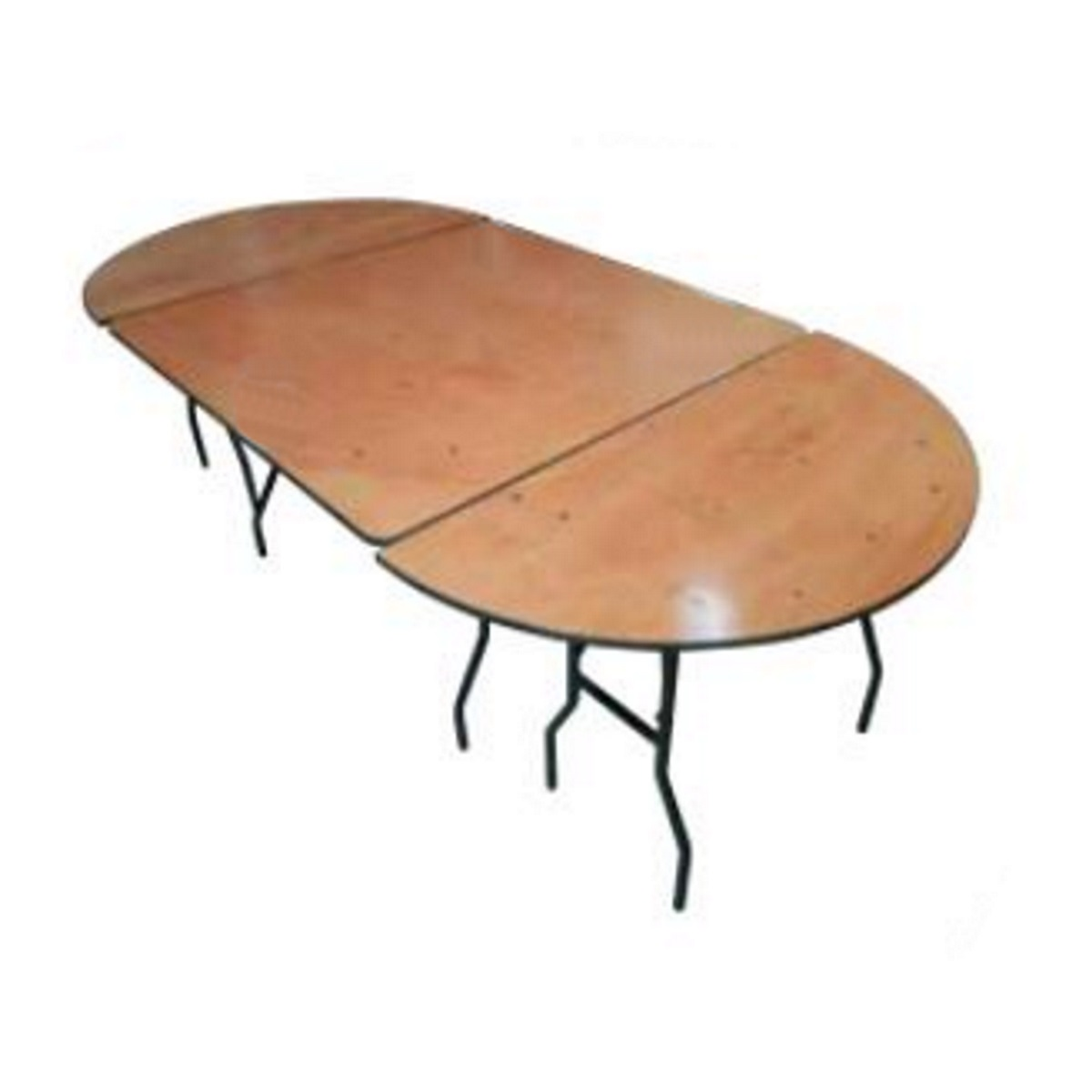 Table ovale bois