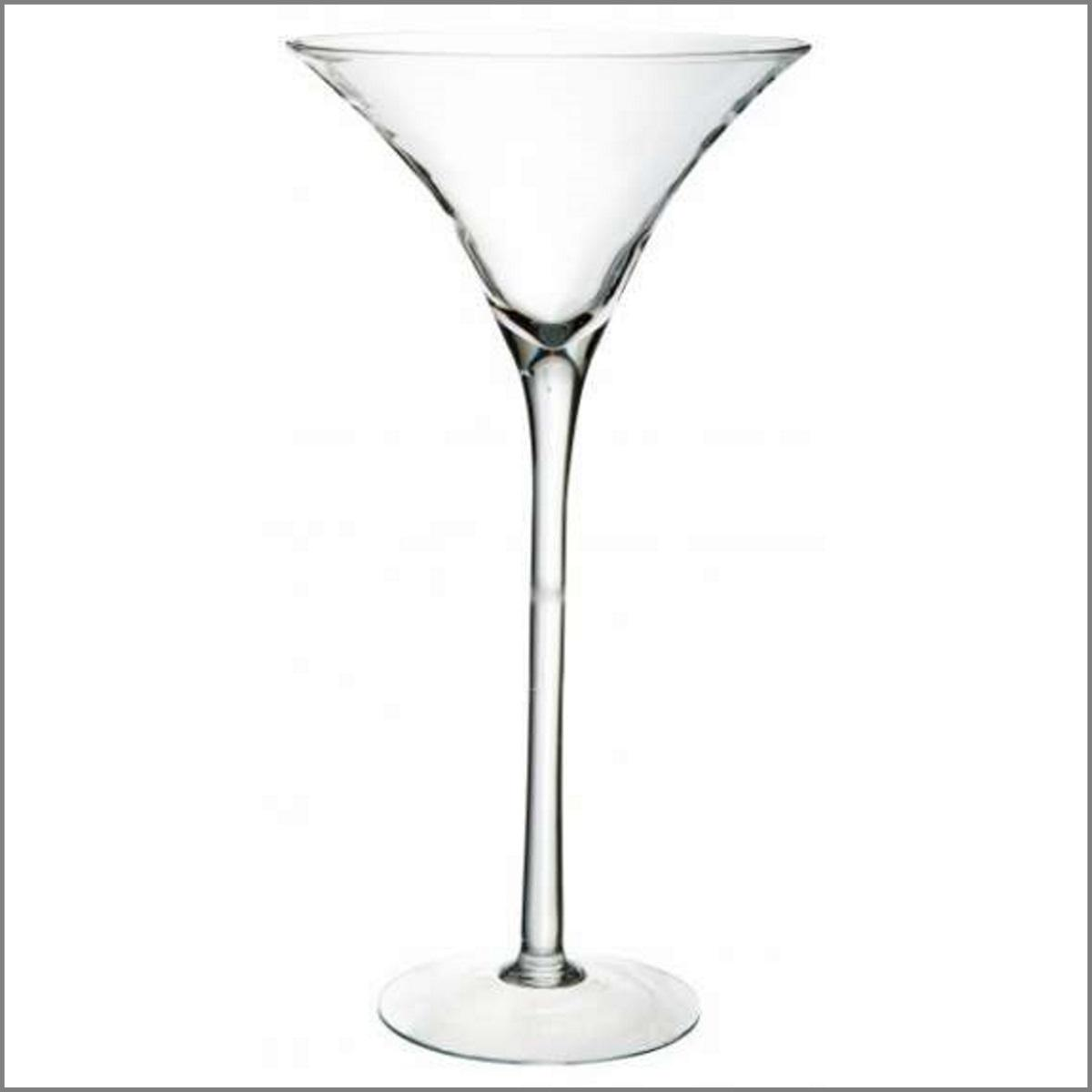 Vase martini 70cm location
