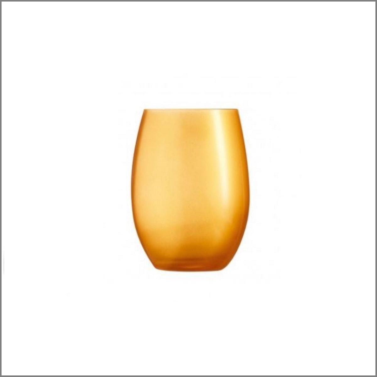 Verre goblet dore 1