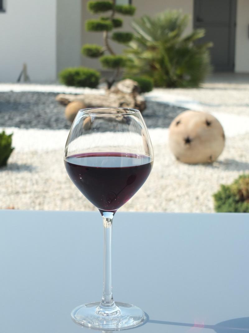 Verre vin arome